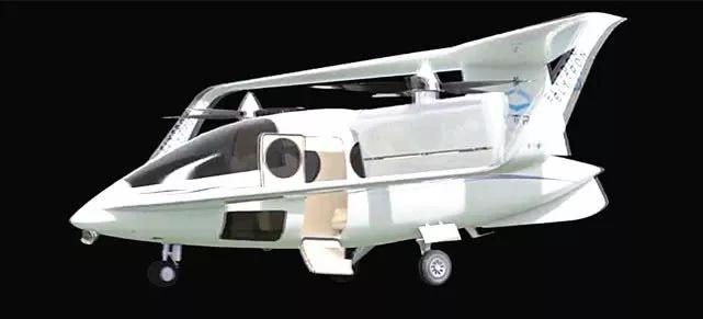 搭接翼垂起无人机Converticopter