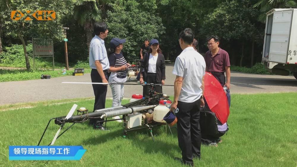 单旋翼油动无人机在林业病虫害防治领域的普及应用
