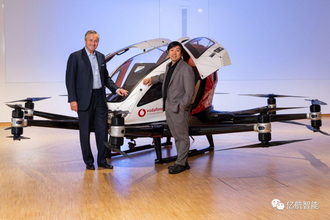 自主研发的载人级自动驾驶飞行器——亿航 216