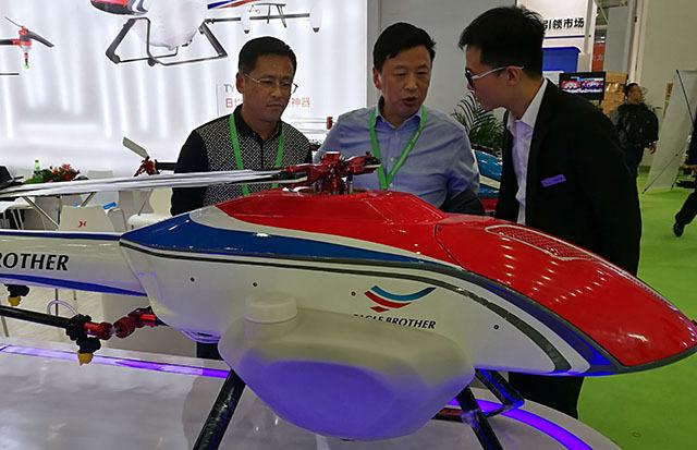 TY-800电动单旋翼无人机