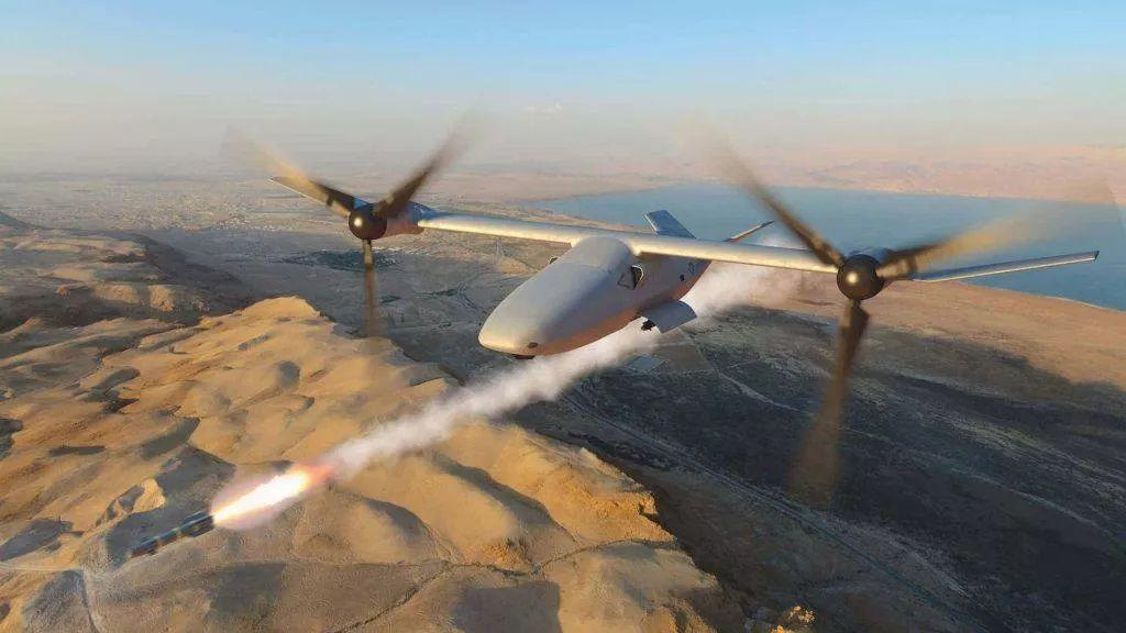 美国展示世界最强无人机:垂直起降,载弹4吨,航程2千公里
