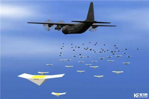 军事领域说的无人机集群控制技术