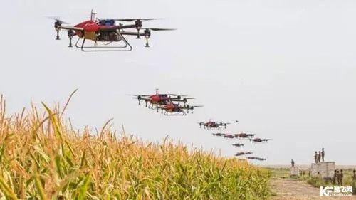 无人机集群控制技术在民用领域