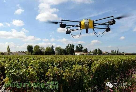 无人机展现劳作技能 进军农业领域大展拳脚