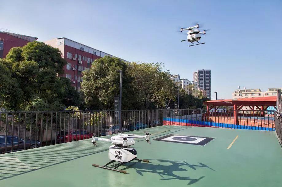 亿航载人级自动驾驶飞行器(AAV)的自适应算法