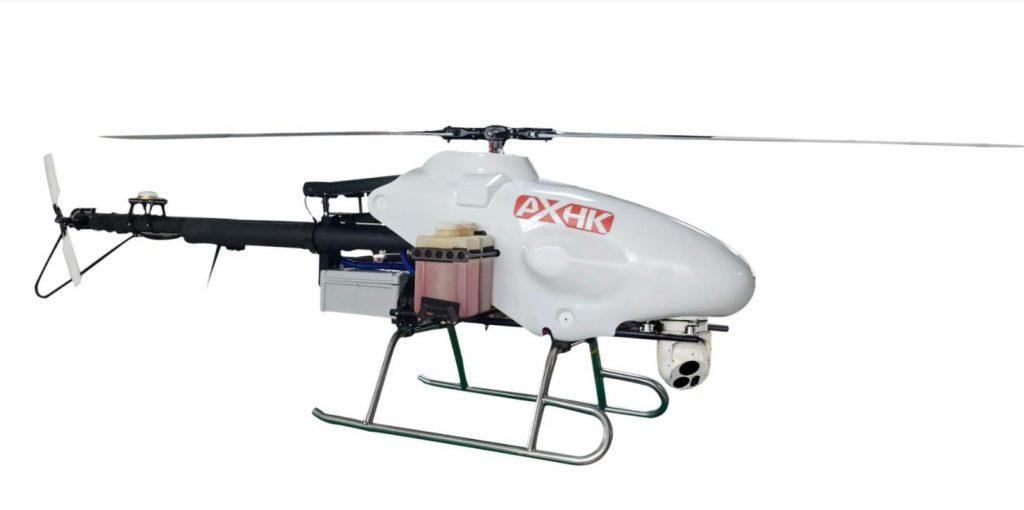 卓翼航空推出的AX30F农用植保无人机,载荷达到30kg