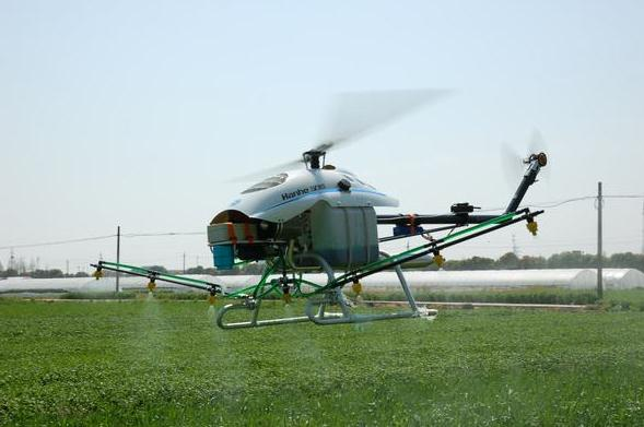 单旋翼植保无人机