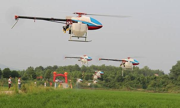 中国农业植保无人机