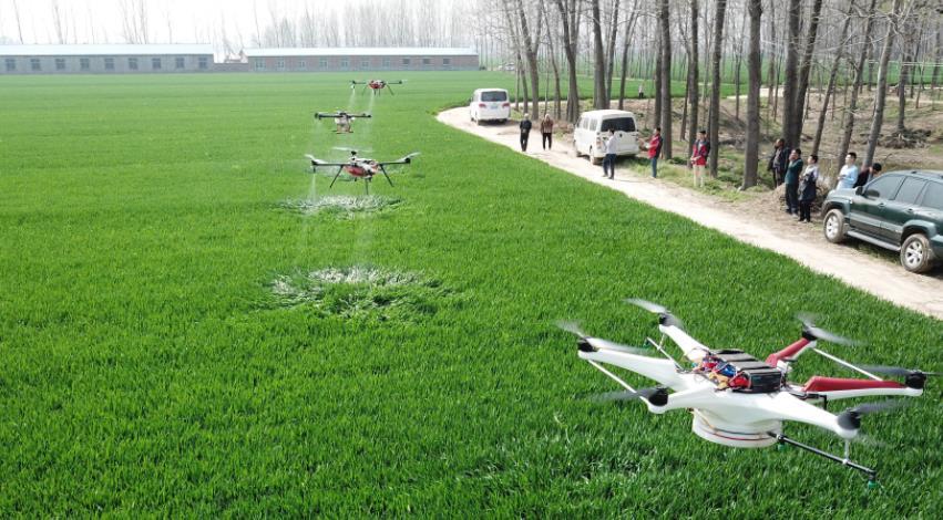 扩大无人机等农机新产品补贴试点,着力引导关键环节