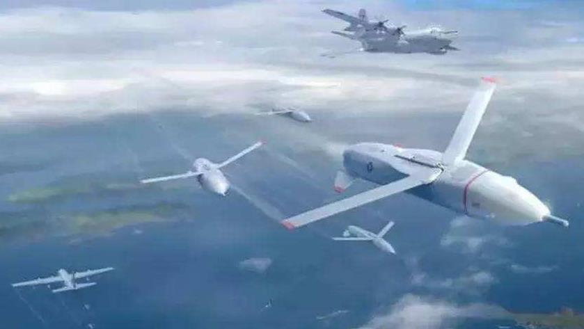 自适应编队飞行等无人机集群协同作战能力