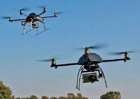 无人机可应用于海洋台风探测、高原、无人区强对流天气观测