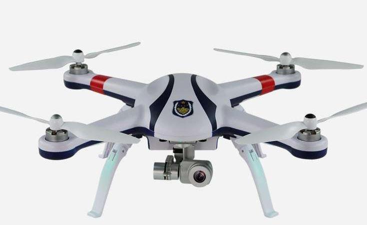 无人机拍摄的画面