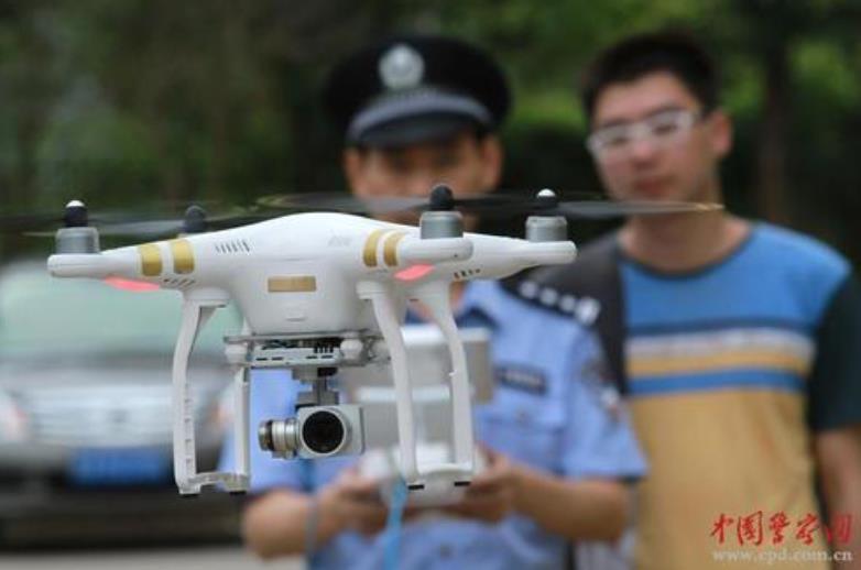 阳泉郊区警用无人机侦查办案