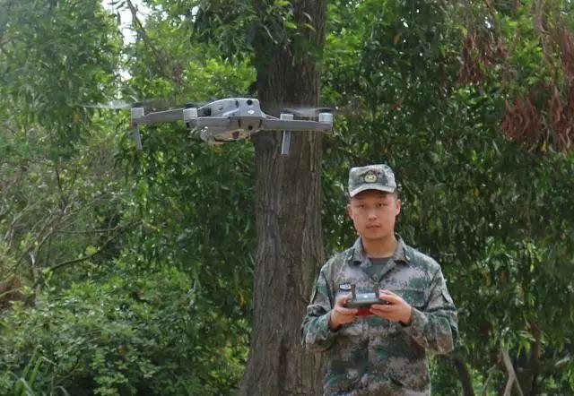 无人机保障手榴弹实投训练