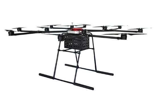 LY-80LY 12/8可变轴电动长航时多旋翼无人机/图