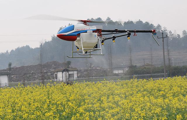 对农业的特别情怀,让我结缘农业植保无人机