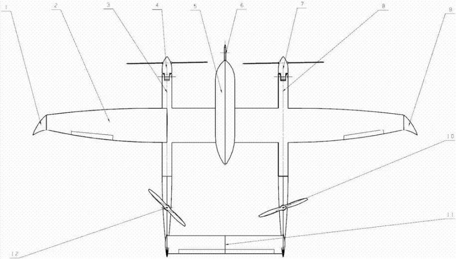 垂直起降固定翼方案