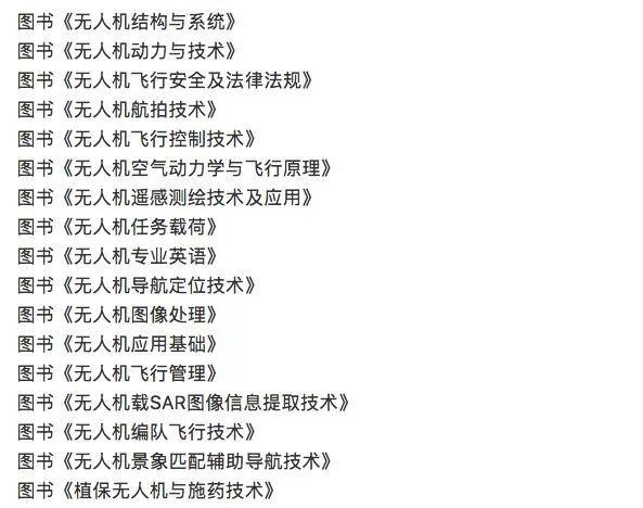 下图为西北工业大学人机专业书单: