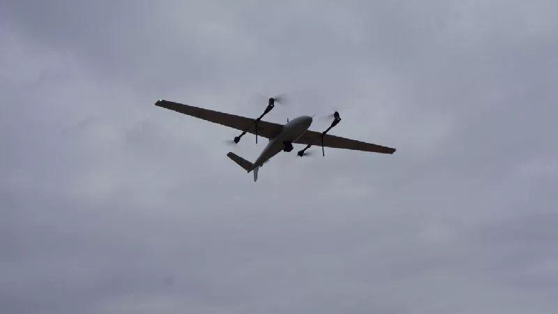 最长航时电动倾转旋翼无人机V330A