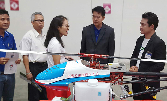 多旋翼植保无人机和单旋翼植保无人机