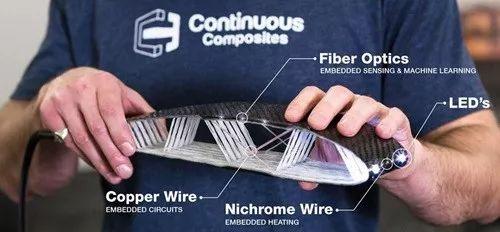 连续复合材料公司3D打印机翼剖面