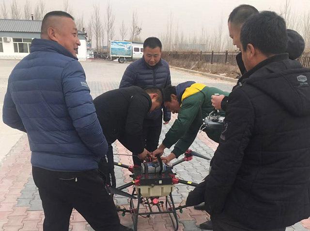 内蒙古赤峰召开第一期植保无人机飞手培训班