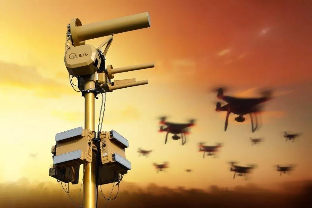 AUDS系统反无人机蜂群作战概念图
