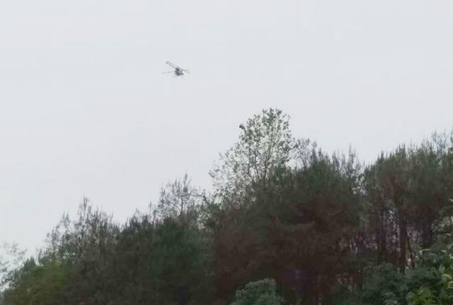 植保无人机在森林飞防作业中应用