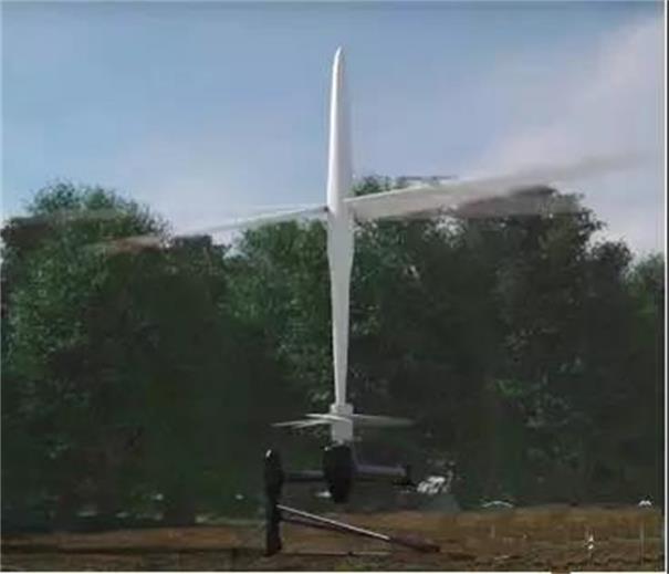 无人机感知降落锥轴顺利插入机场轴座