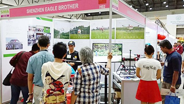 植保无人机亮象亚洲(泰国)国际农机展览会