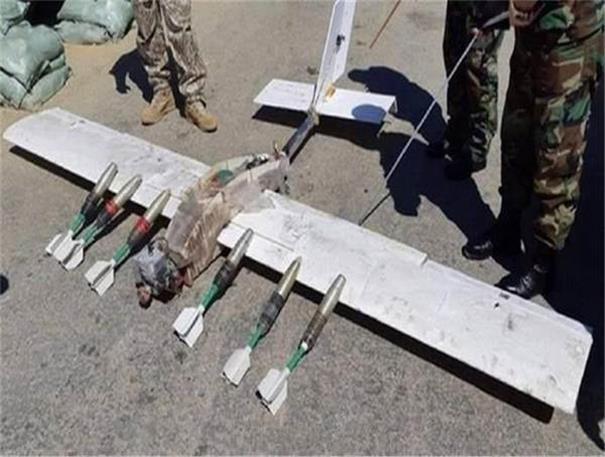 俄军防御无人机的防空导弹