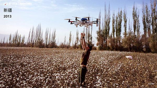这台无人机也成为了极飞科技后续推出植保无人机的原型。