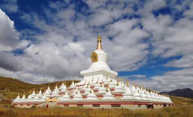 航拍白塔 |藏族心中至高无上的信仰