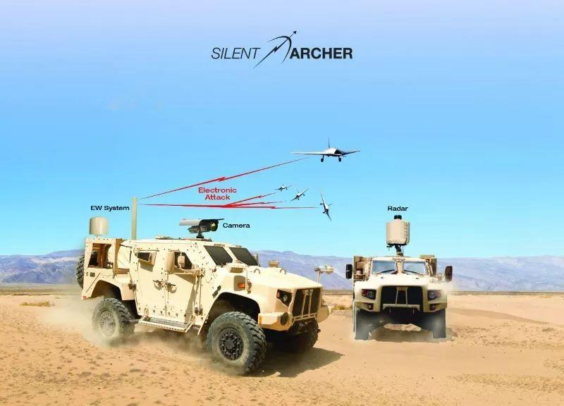 """SRC公司""""沉默射手""""反无人机系统"""