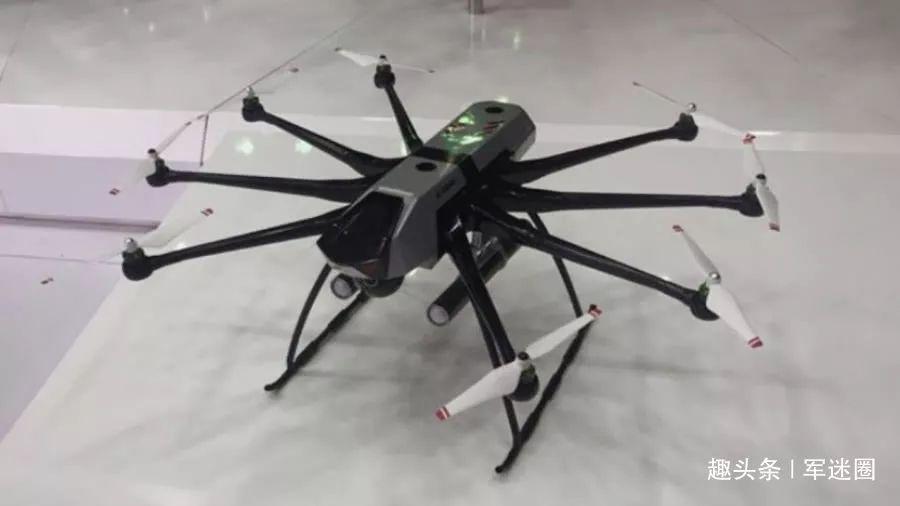 沈阳飞机设计研究所研制世界最大多旋翼无人机