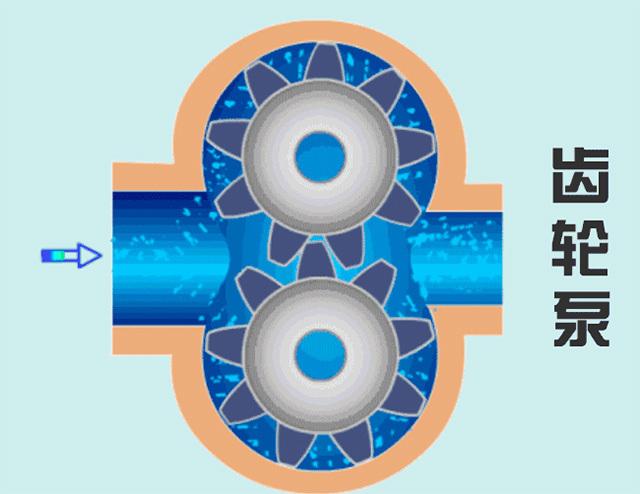 蠕动泵通过挤压软管将管中的水驱动