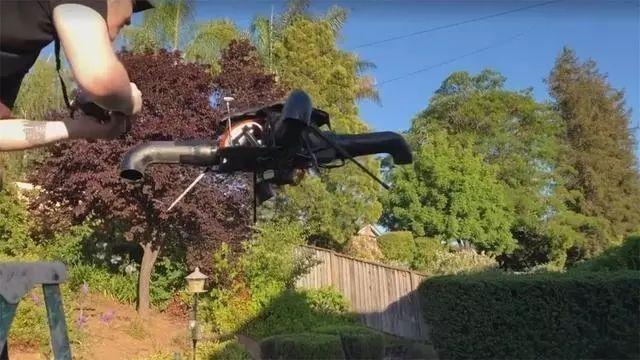 这架号称是世界上最安全的无桨叶无人机