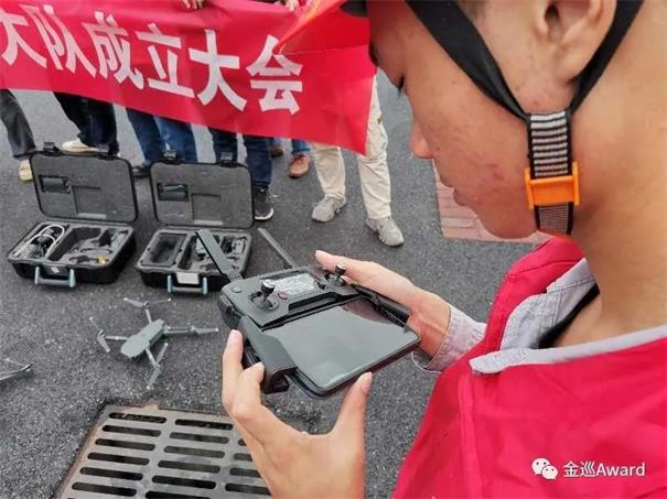 湖南首个电力无人机飞行大队在湘潭成立