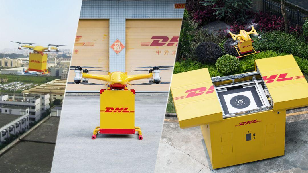 DHL智能柜能够与无人机高度自动协作、无缝接驳
