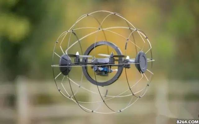 带笼子的无人机Droneball