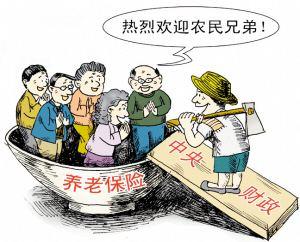 农村的养老补贴