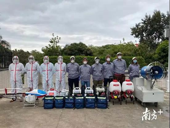 植保无人机配合疾控部门完成对公共场所的消毒工作