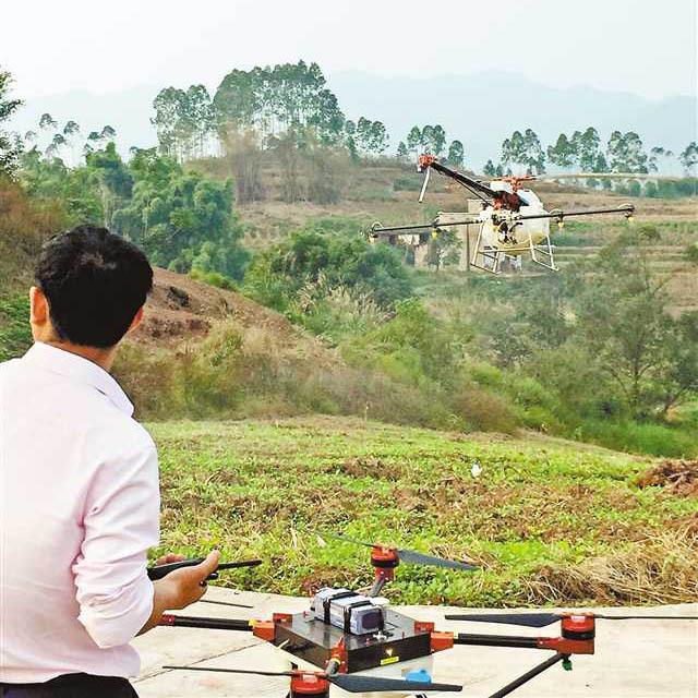 植保无人机成为农民赚钱的新帮手