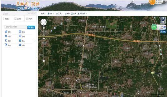 结合无人机实地踏勘,用GPS定位仪测量,锁定闲置土地