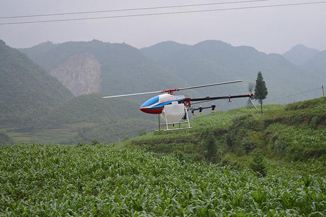 单旋翼植保无人机选用压力喷头比较好