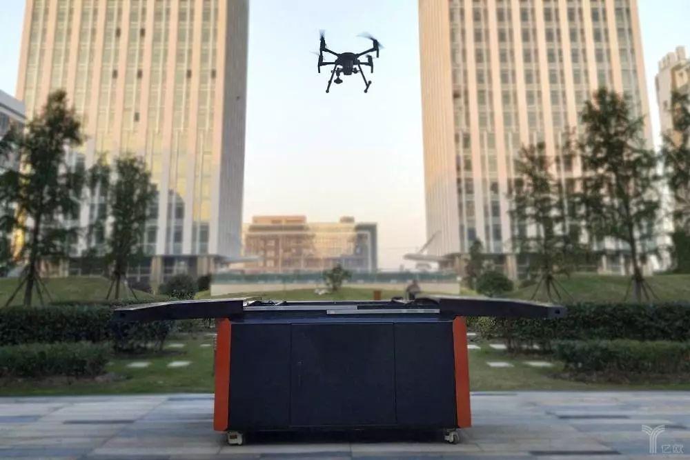 星逻智能推出的无人机自动机场