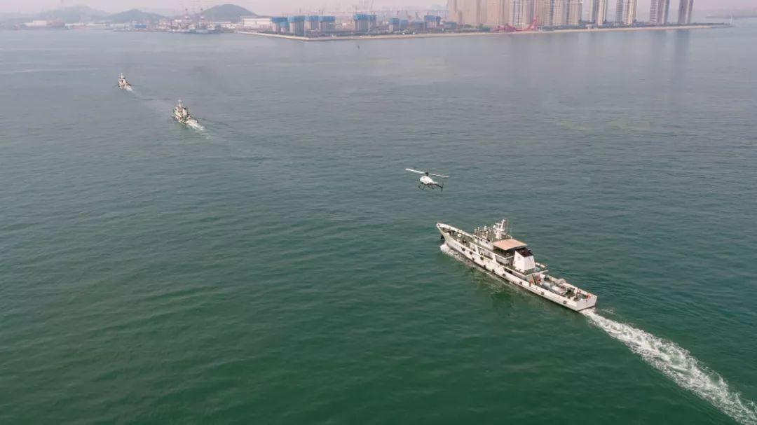 F-120远海作业 北航无人直升机助力渔政执法视频