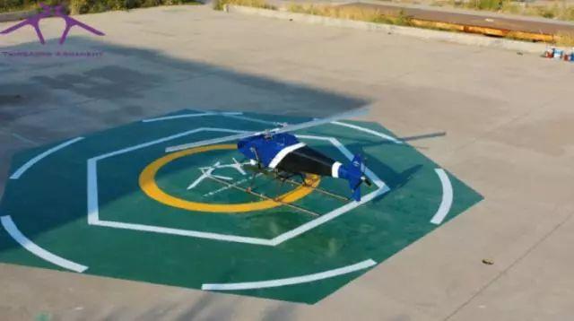 世界首架交叉双旋翼复合推力尾桨无人直升机插图6