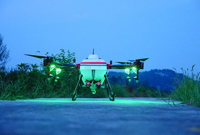 飞防在夜间的效果是相对较好的,那为什么不夜间飞防呢?