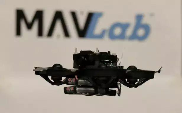 荷兰科学家创造出世界上最小的自主飞行竞速无人机1
